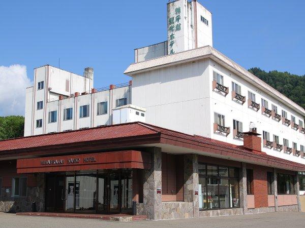 糠平舘観光ホテル全景。東大雪の観光拠点として便利です。