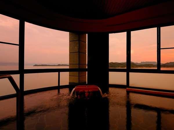 朝日の湯「海香」美しい夕陽に見とれてついつい長風呂に…