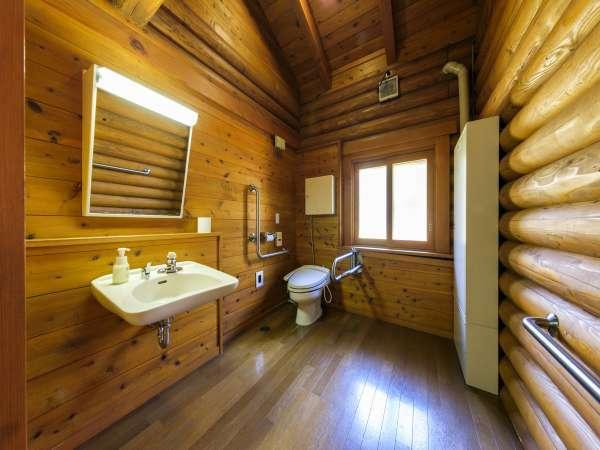 ログハウス(6人用棟)トイレ