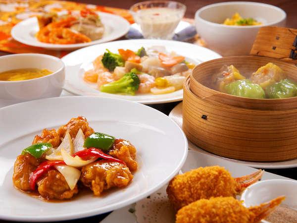 【本格広東中国料理】主菜やスープにデザートまで。本格中国料理をコースでご堪能いただけます