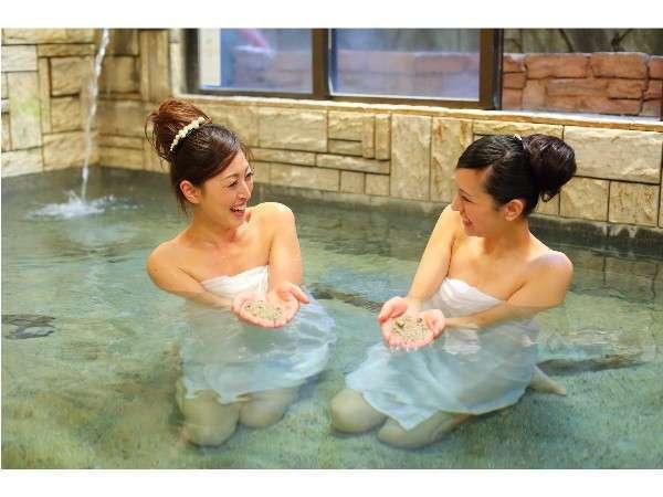 天然砂湯(大浴場)