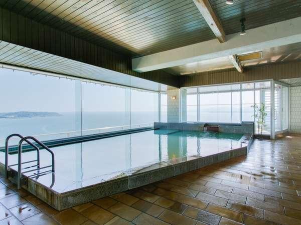 浜名湖を一望できる露天風呂付展望大浴場