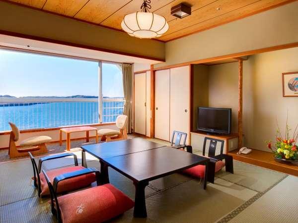 浜名湖側、禁煙10畳和室です