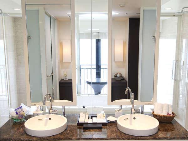 プレジデンシャルオーシャンスイート バスルーム