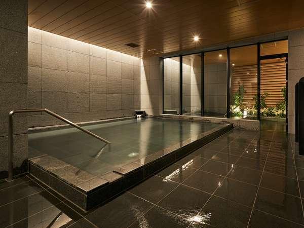 【男女別大浴場】「やまゆりの湯」癒やしの大浴場でくつろぎのバスタイムを