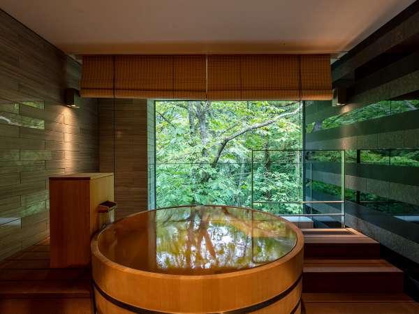 ふふラグジュアリープレミアムスイート 露天風呂(一例)