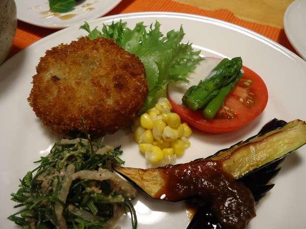 マクロビオティックお試しプランのワンプレート料理。このほかに一人前鍋かシチューとデザートがつきます。
