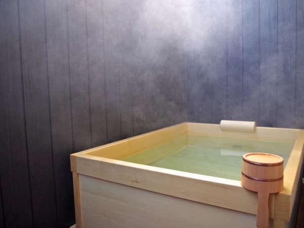 *【お部屋の露天風呂(一例)】温泉を引いてきております♪