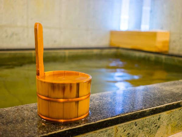 天然温泉は男女入替制です。