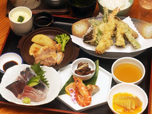 【夕食一例】屋久島の素材を生かした朝食をご用意致します♪