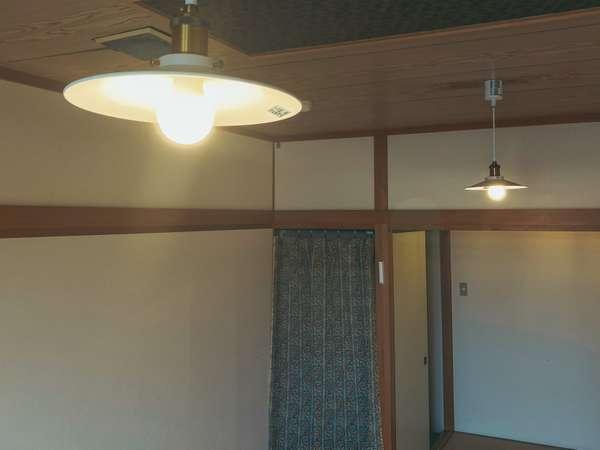 ≪コンセプトルーム≫和室8畳内装アレンジしたお部屋のランプです。