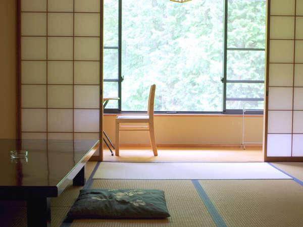 【客室一例】ゆったりとお寛ぎいただける畳のお部屋