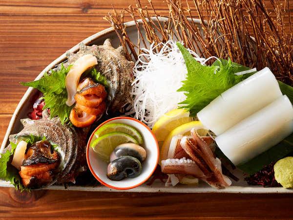 海鮮の宝庫、鳥取の旬を存分にお愉しみいただけます。