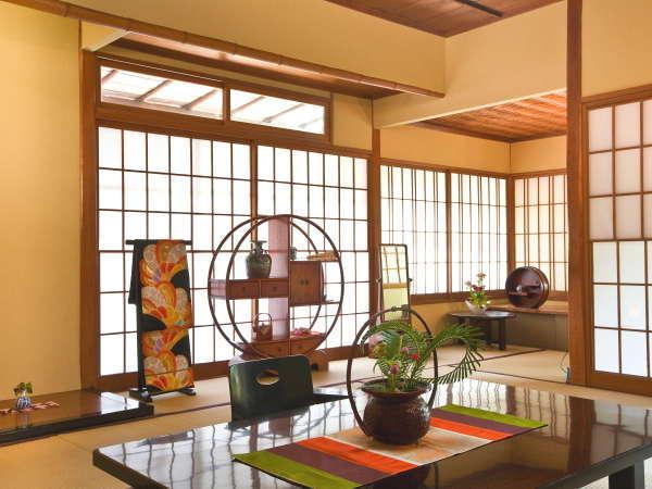 【天然泉露天風呂付き】特別和室/48~61平米 ~和室一例。