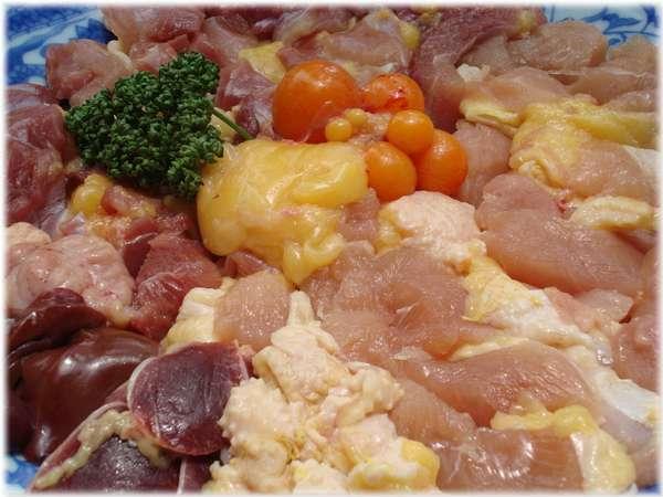 ◆ 自家飼育地鶏シャモ肉