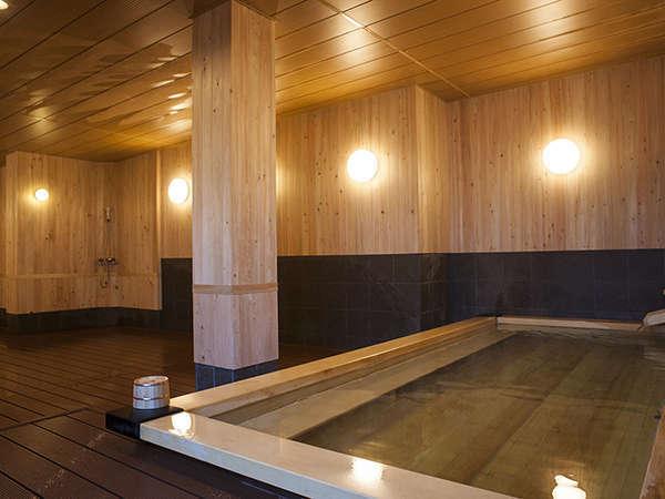 大浴場~美肌・湯治の鬼怒川温泉