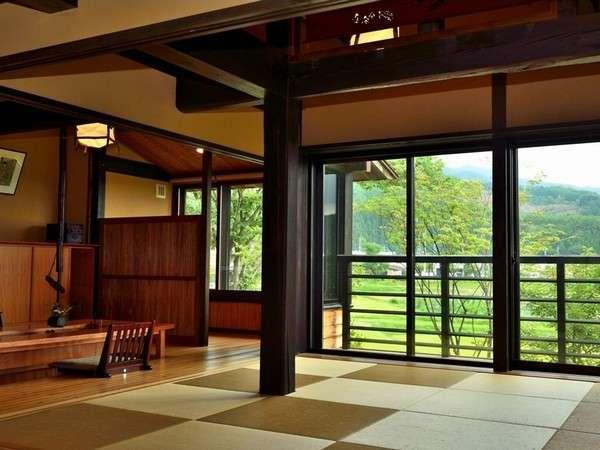 【本館】「白樺・欅」タイプ。100平米以上の広々とした空間