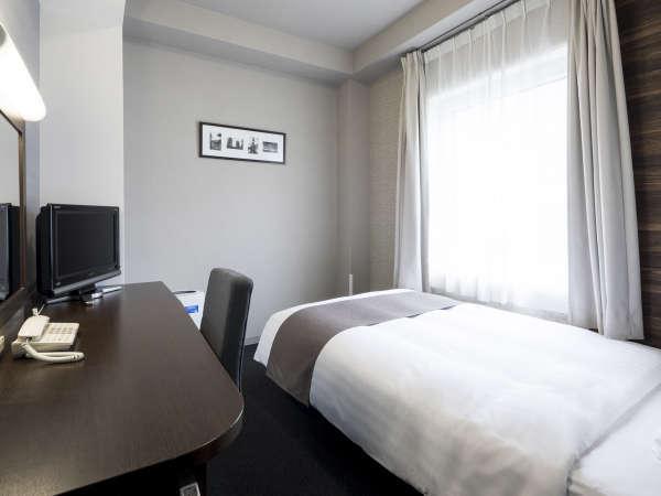 シングルスタンダード◆13平米◆123cm幅ベッド