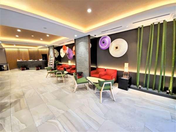 和傘のオブジェは外国のお客様にも人気です♪