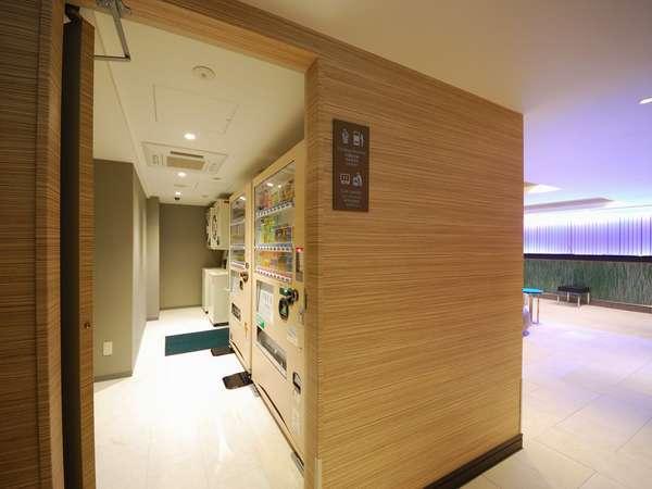 自動販売機・コインランドリー(2階)