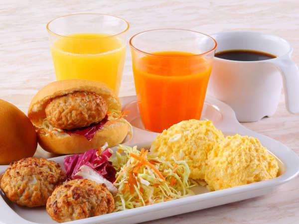 無料の軽朝食をご用意!(毎朝6時30分~9時30分)