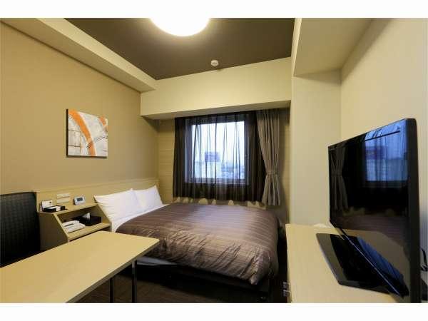 【スタンダードダブル】ベッドサイズ160×200(cm)◆全室 加湿機能付き空気清浄機完備!