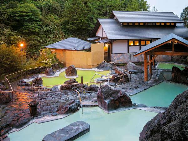 四つの源泉「石庭露天風呂」