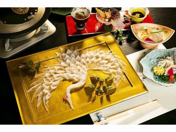 鶴盛り コース料理