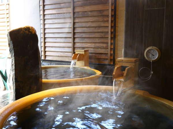 【天然温泉大浴場・男子】露天壺風呂 (湯温:約41℃~42℃)