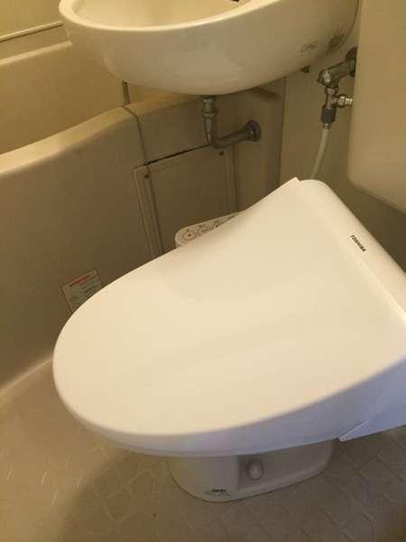 洗浄付きトイレ