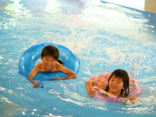 一年中遊べる温泉プール
