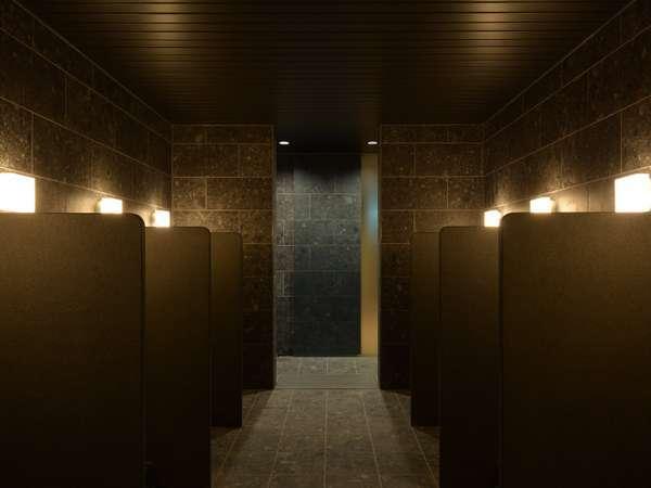 B1 大浴場 洗い場