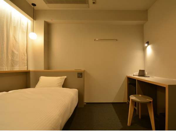 シングルルーム ※写真は一例になります。