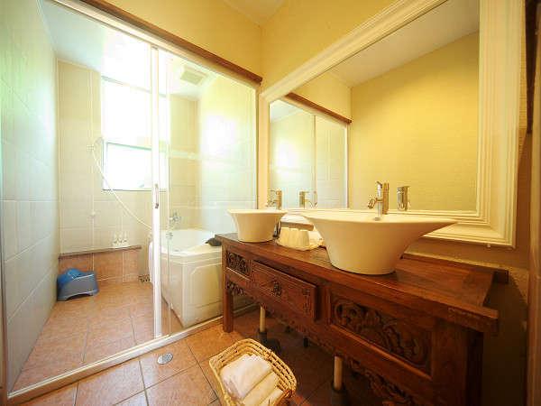 広く・お洒落な洗面室