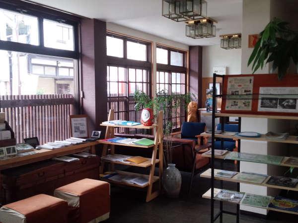 【ロビー】竹田エコミュージアムサロンを併設しております。