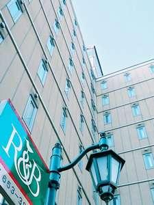 R&Bホテル盛岡駅前は、JR盛岡駅前の地下道B1を潜り抜けて徒歩2分!