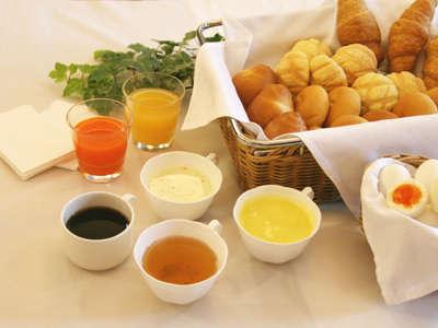 R&Bホテルこだわりの朝食。美味しさと健康にこだわりました。お好きなものをお好きなだけどうぞ。