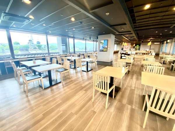 <朝食会場リニューアルOPEN>熊本城が見えるレストラン♪