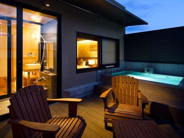 【三水別邸】温泉露天風呂付き特別室は2~3世代旅行にも◎