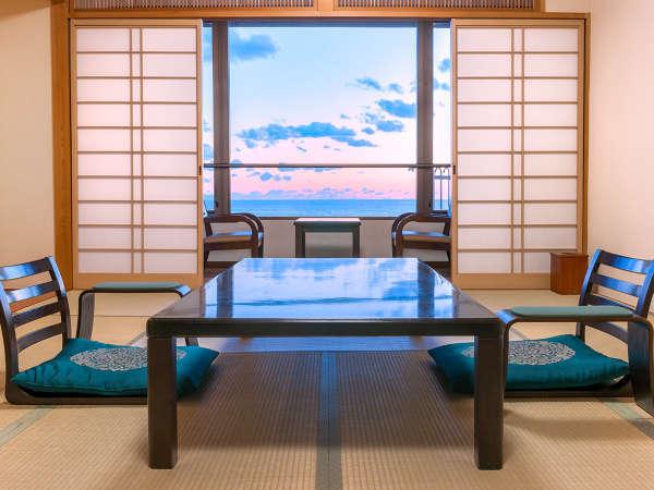 海の見える和室(イメージ)