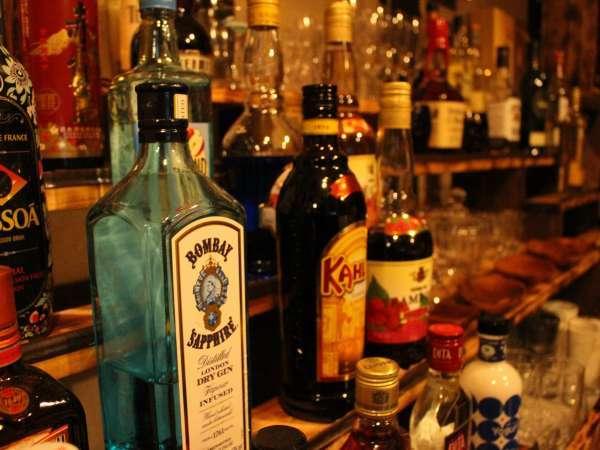 【バックバー】お酒を多数取り揃えております!