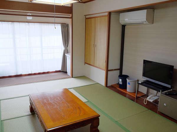 和室10畳:太平洋を望むオーシャンビュー(一例)