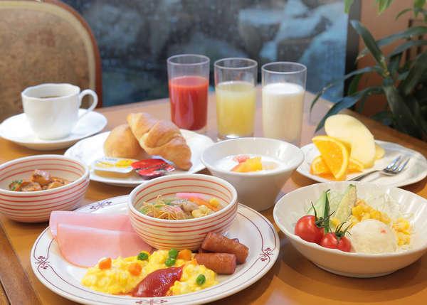 ボンジュールの朝食バイキング(6:30~9:45)