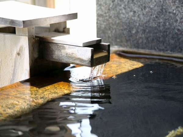 【温泉】良質な泉質を誇る柴山温泉。日頃の疲れを洗い流し、身体の芯まで温まりください※イメージ
