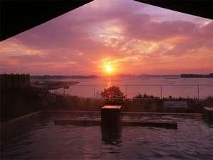露天風呂から日の出を眺める感動の時間(冬季限定)