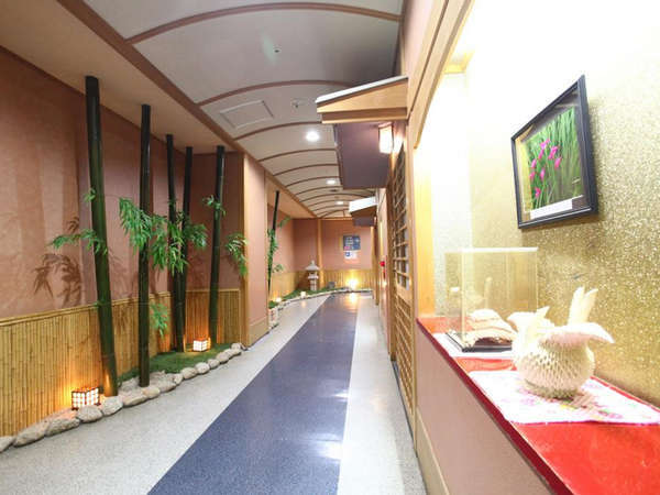 館内長廊下