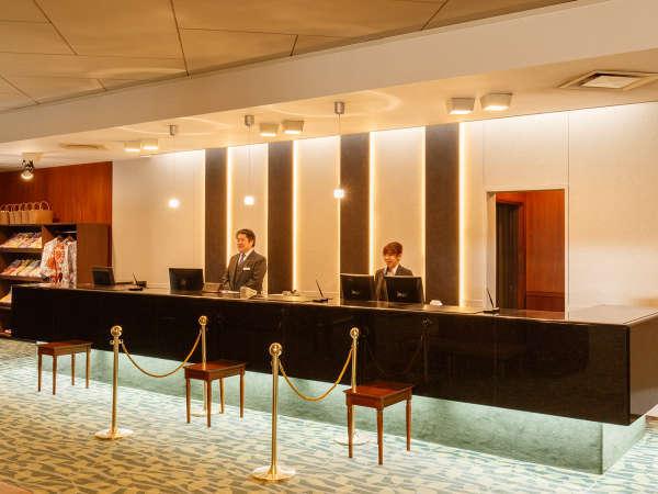ホテル花巻 フロント