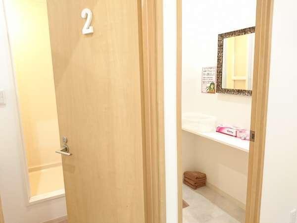 2F女性専用フロアシャワー室
