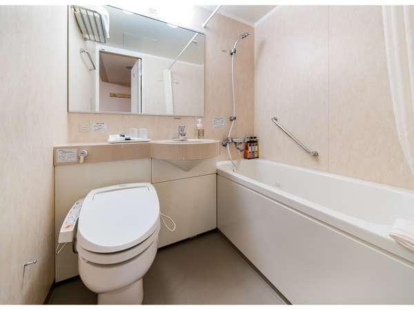 バスルームも広々です!