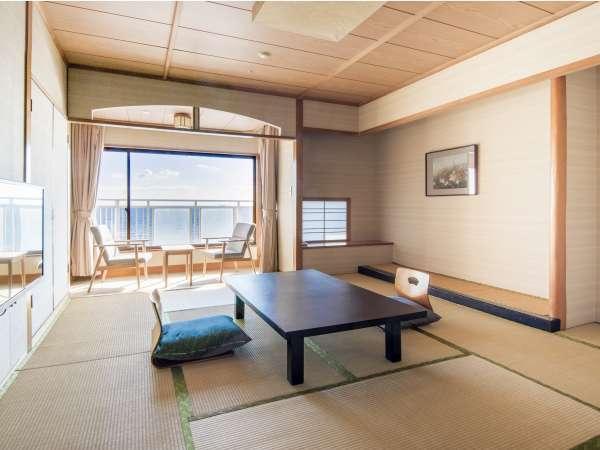 【海側】オーシャン和室(喫煙可)/バス・トイレ付